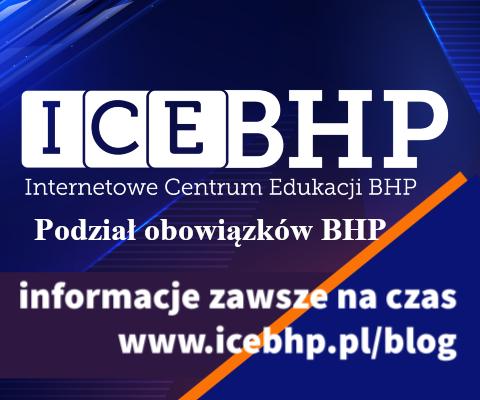 Podział obowiązków BHP