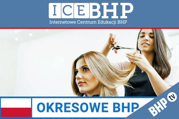 Szkolenie okresowe BHP dla  Fryzjerów i fryzjerek