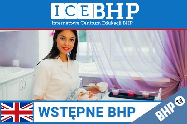 Szkolenie okresowe BHP dla  Szkolenie wstępne BHP dla pracowników branży usługowej w języku angielskim