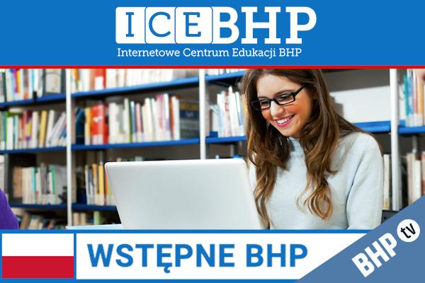 Szkolenie okresowe BHP dla  Szkolenie wstępne BHP dla pracowników biurowych