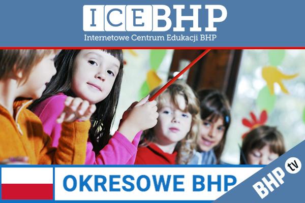 Szkolenie okresowe BHP dla  Opiekunów i nauczycieli w żłobkach i przedszkolach