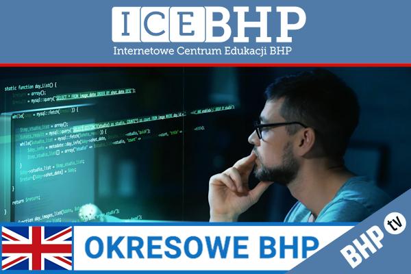 Szkolenie okresowe BHP dla  Pracowników IT