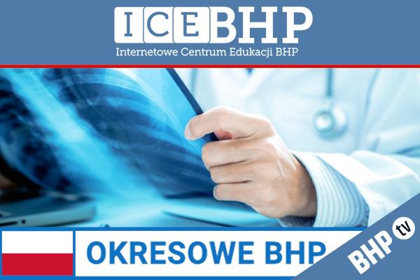 Szkolenie okresowe BHP dla  Pracowników służby zdrowia narażonych na działanie pola E-M