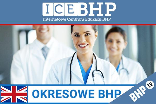 Szkolenie okresowe BHP dla  Lekarzy i personelu medycznego