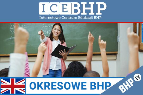 Szkolenie okresowe BHP dla  Nauczycieli i pracowników oświaty